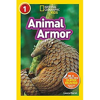Los lectores de National Geographic Kids: Animal armadura (L1) (lectores)