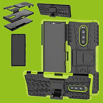 Hybrid case 2 piece SWL robot green for Sony Xperia 1 6.5 inch case sleeve cover protection