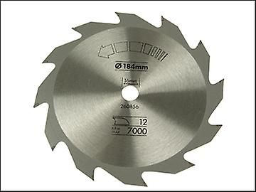 Black & Decker Circular Saw Blade 184 x 16mm x 12T Fast Rip