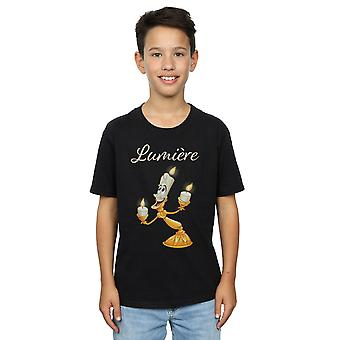 Disney Boys Beauty And The Beast Be Our Guest T-Shirt