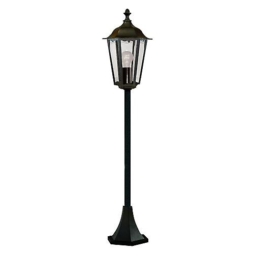 Searchlight 82504BK Alex Traditional Black Medium Outdoor Post Lamp IP44