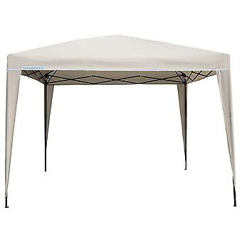 Slimbridge Bingham 3 x 3 m vouwen Pop-Up Gazebo, ivoor