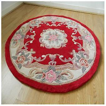 Rugs -Chinese Round - Red
