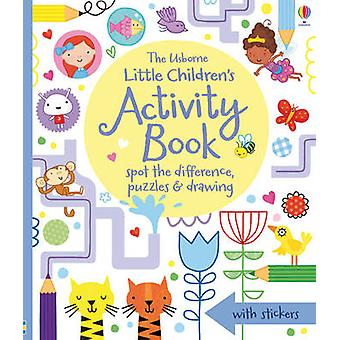 Little Children's Activity Book Spot the Difference - Puzzles and Dra