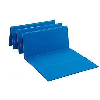 BECO Yoga Gym Exercise Physio Fitness Folding Mat- Blue