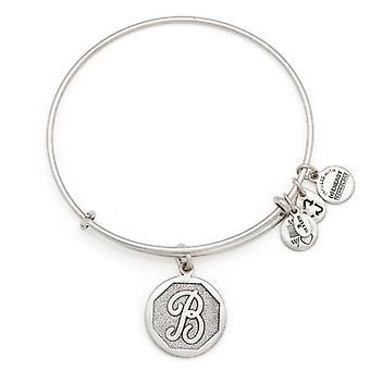 Alex et Ani initiale B bracelet en argent A13EB14BS