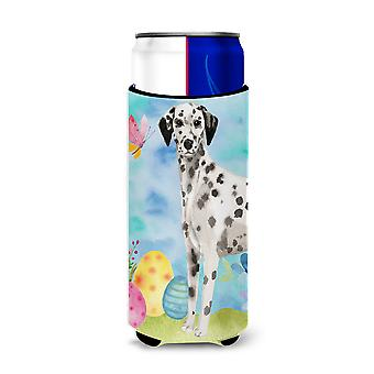 Dalmatian Easter Michelob Ultra Hugger for slim cans