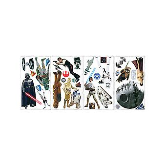 Star Wars Room Decor Wall Sticker Kit