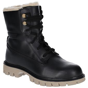 CAT Lifestyle Womens Basis Fur Lace Up Boot