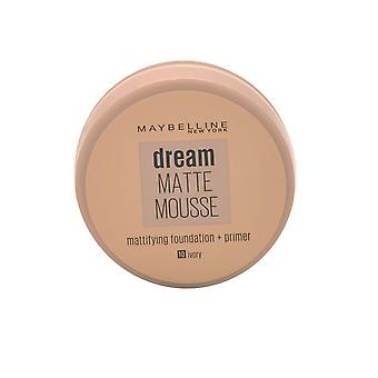 Maybelline Dream Matte Mousse Mattifying Foundation + Primer 18ml Elfenbein #10