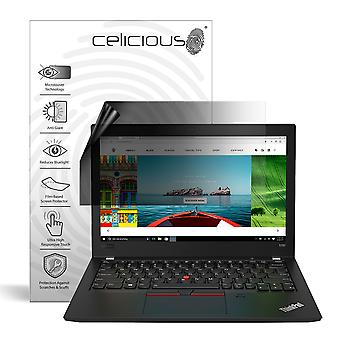 Celicious Privacy Lite 2-Way Anti-Glare Anti-Spy Filter Screen Protector Film Compatible with Lenovo ThinkPad X380 Yoga