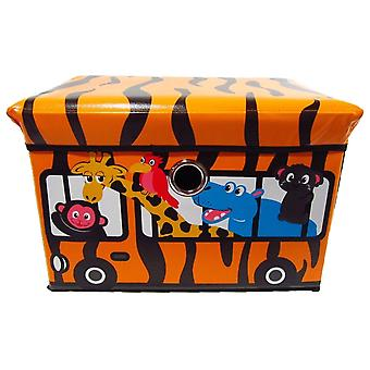 Kid Toy Storage Box Safari