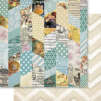 Bella! Baby Boy ' Double-Sided Cardstock 12
