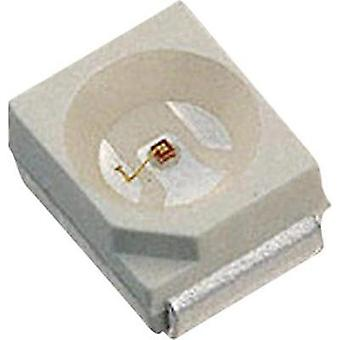 SMD LED PLCC2 Red 25 mcd 120 ° 20 mA 2 V LUMEX