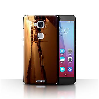STUFF4 Case/Cover for Huawei Honor 5X/GR5/Harbour/British Coast