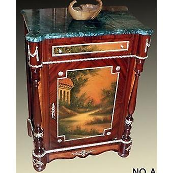 Baroque COMMODE with painting, antique style painting, image MoPa0630