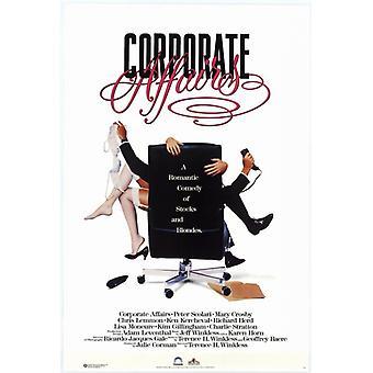 Печать плаката кино по корпоративным вопросам (27 x 40)