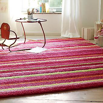 Esprit Funny Stripes Rugs 2845 01 Pink