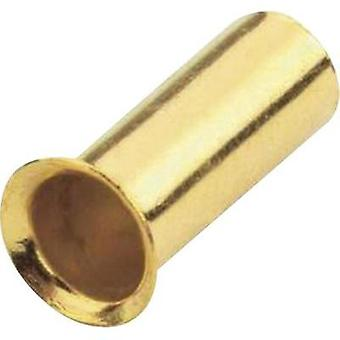 Ferrules 1 x 4 mm² Sinuslive gold-plated