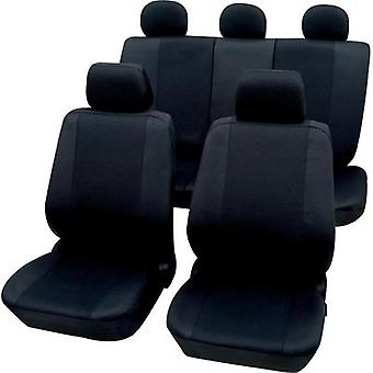 Seat covers 11-piece Petex 26174804 Sydney Polyester Black