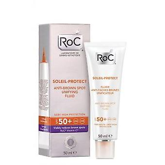 Roc Soleil-Protect Anti-Brown Spot Unifying Fluid SPF 50+ 50 ml