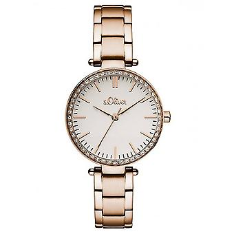 s.Oliver women's watch wristwatch stainless steel SO-3159-MQ