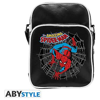 Abysse Marvel Messenger Bag Spdm Vintage Vinyl Small Size Hook