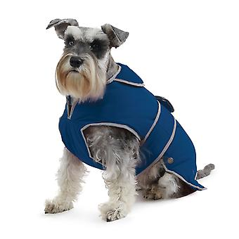 Muddy Paws Stormguard Fleece Lined Coat & Chest Protector Blue Medium