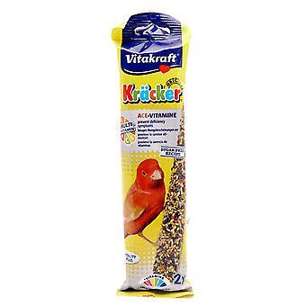 Vitakraft Canary Krõcker Multivitamin 2pk (Pack of 7)