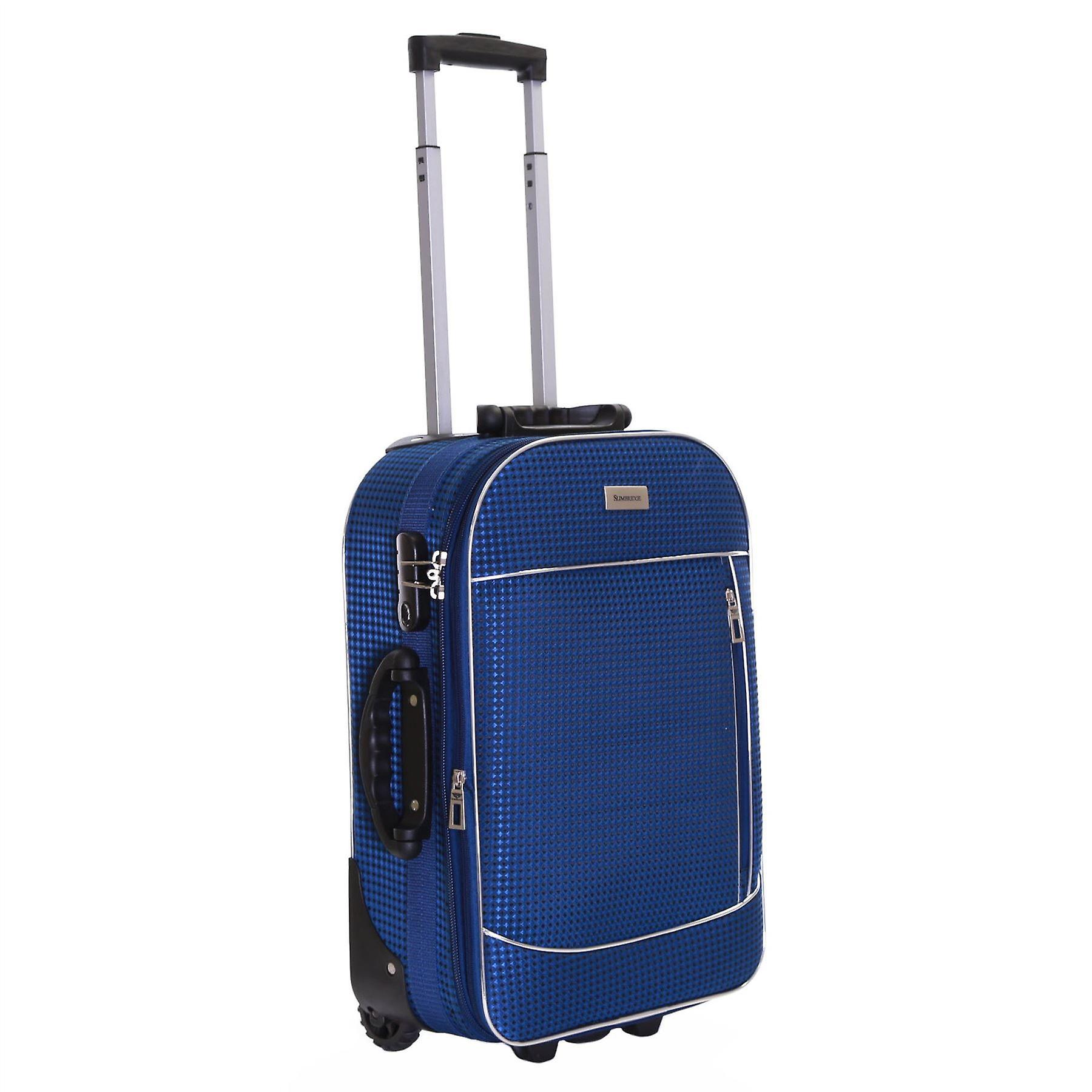 Slimbridge Rennes Cabin 55 cm Expandable Suitcase, Navy