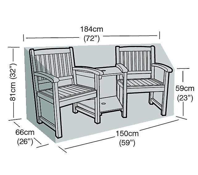 Cover Companion Quality Furniture Seat Garden Protector Polyester High QCxrdtsh