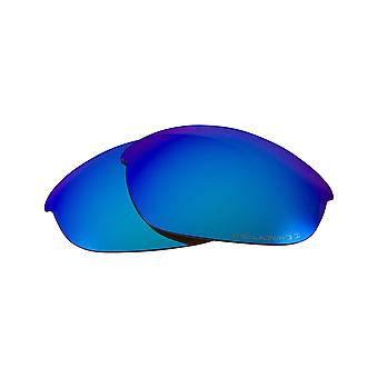 New SEEK Polarized Replacement Lenses Oakley HALF JACKET 2.0 Asian Fit Blue