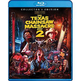 De slachting van de kettingzaag van Texas: Deel 2 [Blu-ray] USA import
