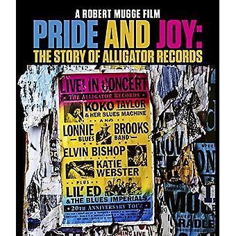 Stolthed og glæde: The Story of Alligator Records [Blu-ray] USA import