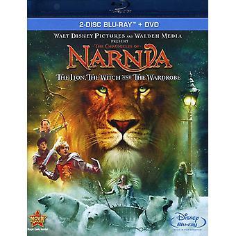 Berättelsen om Narnia: Lejonet, häxan och Lejonet [Ws] [3 skivor] [Blu-ray/Dvd] [BLU-RAY] USA import