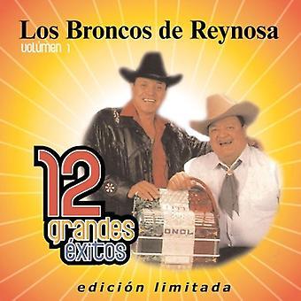 Los Broncos De Reynosa - Los Broncos De Reynosa: Vol. 1-12 Grandes Exitos [CD] USA importar