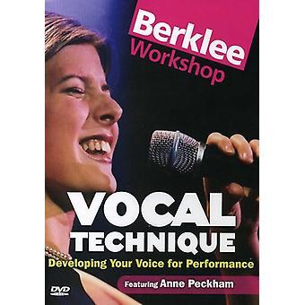Voz su desarrollo de técnica vocal para Performa [DVD] los E.e.u.u. la importación