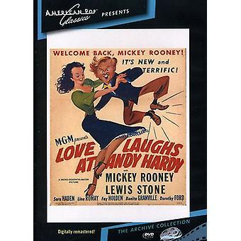 Amor se ríe de importación de Estados Unidos [DVD] (1947) de Andy Hardy