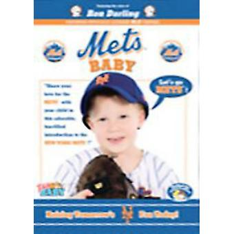 NY Mets Baby & David Wright Topps Baby Card [DVD] USA importerer