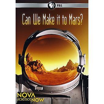 Nova - Sciencenow: Kan vi göra det till Mars? [DVD] USA import