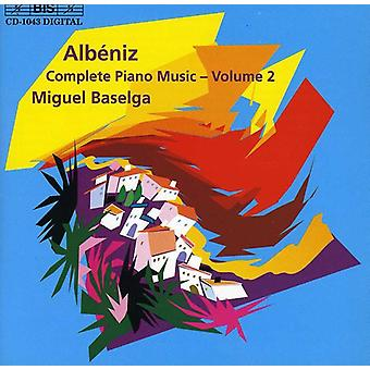I. Albeniz - Alb: niz.: Kompletny Piano Music, import USA Vol. 2 [CD]
