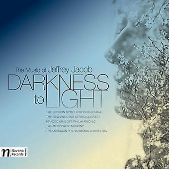 Jacob / Spalding / Jacob / importación de Nueva Inglaterra Str Qrt - oscuridad a la luz-los E.e.u.u. música de Jeffrey Jacob [CD]