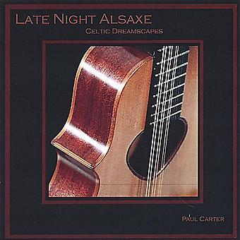 Paul Carter - Late Night Alsaxe [CD] USA import
