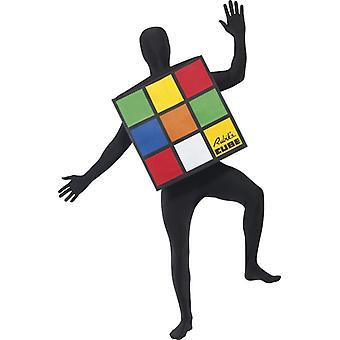 Rubiks kub Rubiks kub mäns kub klädedräkt Carnival