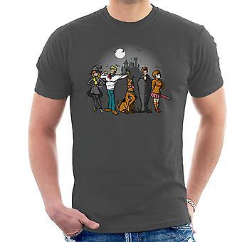 Mysteriet flok Scoobie Doo mænd T-Shirt
