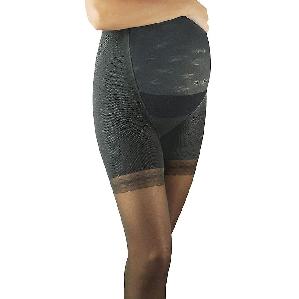 Solidea Magic Maman 70 Anti Cellulite Maternity Support Tights [Style 25770] Nero (Black)  M
