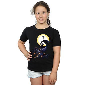 Disney Girls Nightmare Before Christmas Cemetery T-Shirt