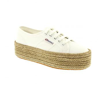 Superga Cot Rope 2790 - White Womens Trainers