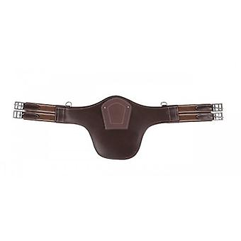 QHP Save dark brown cinch barriguera (Horses , Saddle , Accessories for saddles , Straps)
