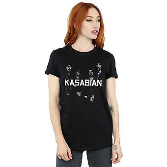 Kasabian kvinders Groupie foto kæreste Fit T-Shirt